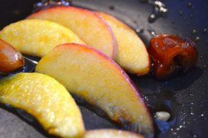 Pfirsich Milchreisschnitten