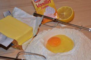 Vanille Kirsch Kuchen