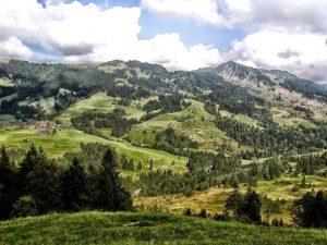Alpen westlich der Iller