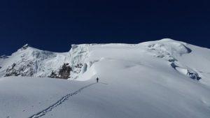 Gletscher und Schneefelder