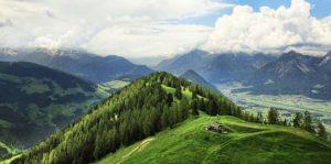 Topografie der Alpen